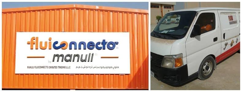 Fluiconnecto ustanawia przyczółek w Emiratach